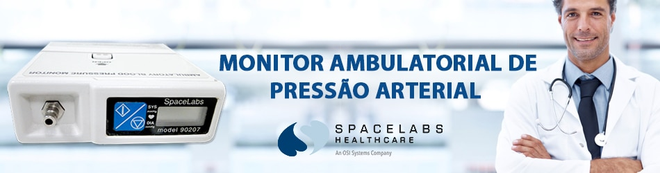 Monitor Ambulatorial de Pressão Arterial - MAPA Spacelabs