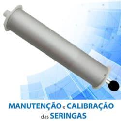 assistencia tecnica e calibração em seringas de espirometros