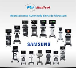a for medical é representante da linha de ultrassom da samsung