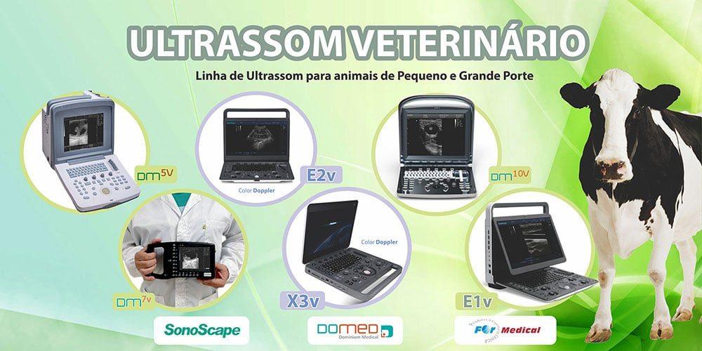 Ultrassom Veterinário Color Doppler