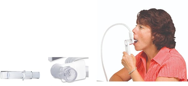 Teste de Espirometria com o Sensor de Fuxo  preVent® - MGC Diagnostics